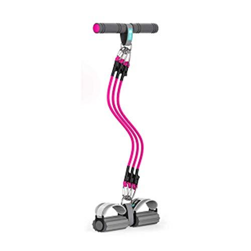 H.Y.S.M Fitness weerstand band.Fitness elastische band.Yoga vormgeving rally riem, mannen en vrouwen krachttraining multifunctionele riem, pedaal trekker.Trekkoord sit-ups fitness apparatuur, met zuig