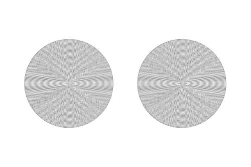 Sonos In-Ceiling Speakers - Pair of Architectural Speakers by Sonance for Ambient Listening