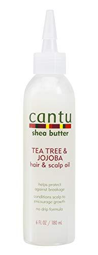 Cantu Shea Butter Tea Tree & Jojoba Hair & Scalp Oil, 6 Fluid Ounce