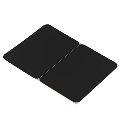 B Blesiya Silicone Wrist Pad Cover Wrist Pad Palm Rest Cushion with Touchpad Protector Skin Cover for Macbook Air/Pro Laptops - Black