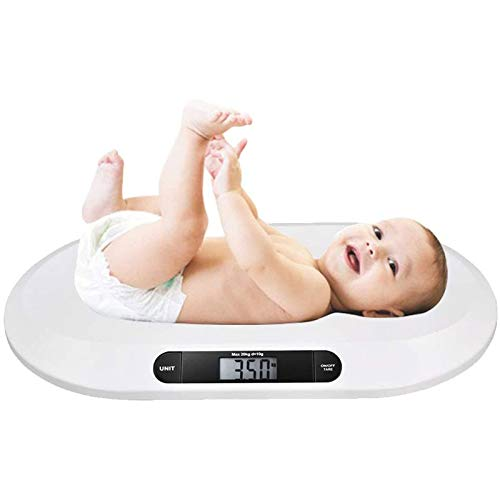 YUEWEIWEI Hogar Baby Scale Mini Pek Scale Baby Infantil Pesaje Escala Digital Electrónico Pesaje Escala Bebé para bebés Mascotas Baños