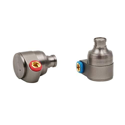 LINSOUL TIN HiFi T2 Pro HiFi Dual Dynamic 2DD in-Ear Earphones Metal Design, Detachable MMCX Cable, Foam Eartips