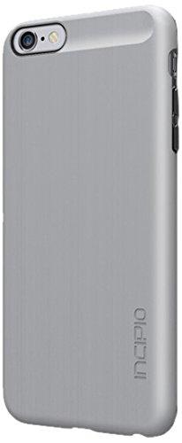 Incipio Custodia Cover a Scatto Ultra Sottile per Apple iPhone 6 Plus 5.5' Alluminio Effetto Argento