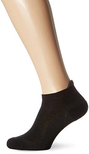 Hudson Herren Sneaker Socken Active 004834, Schwarz (Black 0005), Gr. 43/46