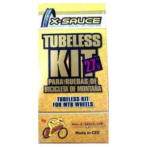 "X-Sauce Kit conversor 27.5"" TUBULESS 27,5, Ciclismo, Amarillo"