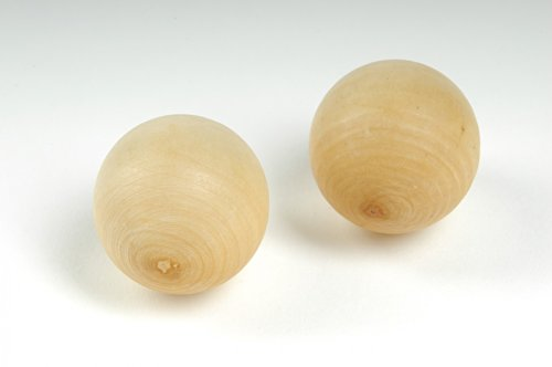 Winsport - Boule palla porta di legno, 30 mm di diametro