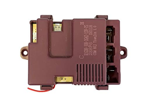 BSD 12V 2.4 Ghz Ersatz Steuerkasten für Kinder Elektroauto, Ersatz Empfänger Hauptplatine für Elektro Kinderauto WXE-8988 - Kinder Elektrofahrzeug Ersatzteil