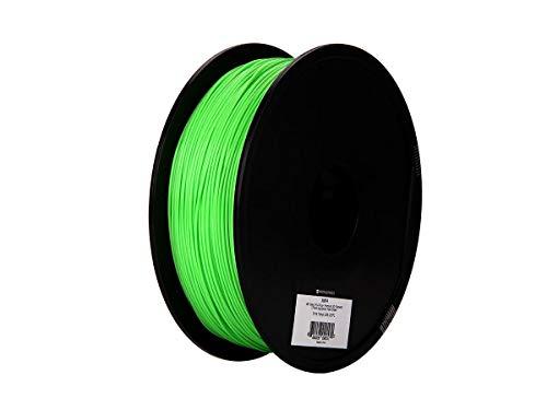 Monoprice MP Select PLA Plus + Premium 3D-Filament - Peak Green, 1 kg/Spule, Dicke 1,75 mm, PLA Plus + ist stärker als gewöhnliches PLA