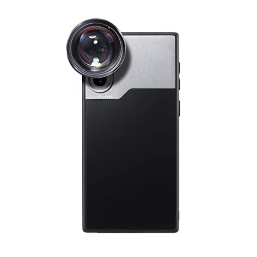 ULANZI Phone Case Support Extra Camera Lens (17mm Diameter) Protective Unique Design Shakeproof Solid Case Cover for Samsung Note 10 Plus Using 1.33X Anamorphic Lens Wide Angle Macro Lens DOF Adapter
