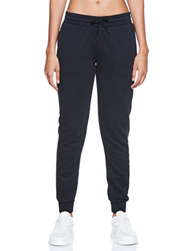 Adidas Essentials Linear Pant, Pants Donna, Black/White, S 40-42