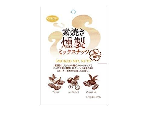 共立食品 素焼き燻製ミックスナッツ 65g ×6袋