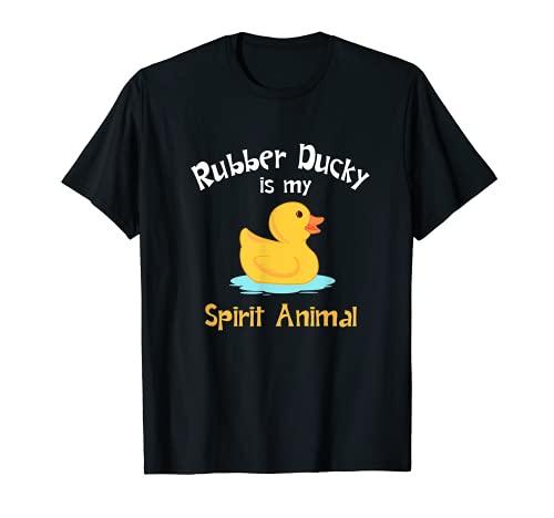 Regalo animal del espíritu del patito de goma Camiseta