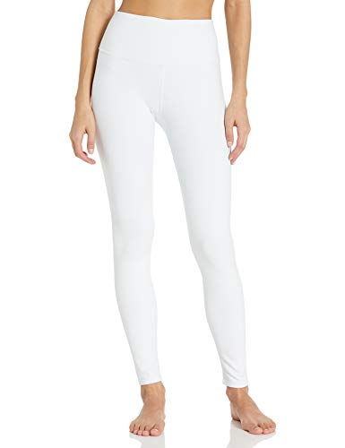 Alo Yoga Women's High Waist Airbrush Legging, White, M