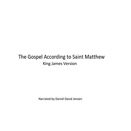 The Gospel According to Saint Matthew audiobook cover art