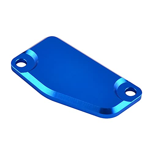 JINYAN Am-PM CNC Freno Freno Depósito Master Cilindro Funda Ajuste para Husqvarna TC85 TC65 Ajuste para 65 85 SX 200 XCW 250 FREDETRIDE 2013-2020 (Color : Blue)