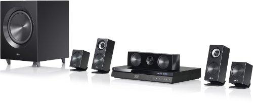 LG BH7220B 3D-Blu-ray 5.1 Heimkinosystem (1100 Watt, WLAN, Smart-TV, Dockingstation, DLNA) schwarz