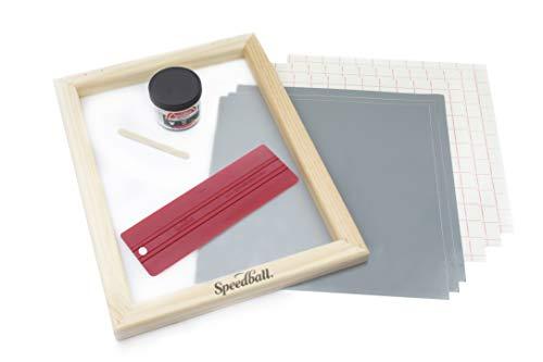 Speedball Beginner Screen Printing Craft Vinyl Kit, E-Commerce Packaging