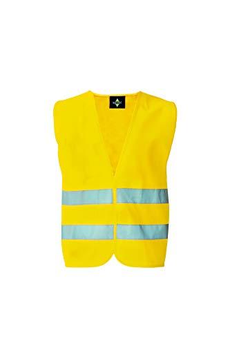 Korntex X217GXXL Warnweste Standard - 1 Klett, gelb, XXL