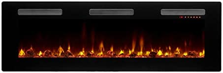 DIMPLEX Sierra 60 Linear Electric Fireplace Model SIL60 120V 1400W 11 7 Amps Black product image