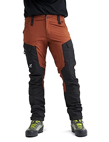RevolutionRace Herren RVRC GP Pants, Hose zum Wandern und für viele Outdoor-Aktivitäten, Rusty Orange, XL