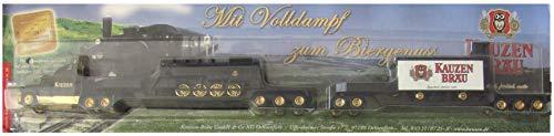 Kauzen Bräu Nr.38 - Mit Volldampf zum Biergenuss - Ford Aero Max - Roadtrain - US Hängerzug mit Dampflok & Güterwagen