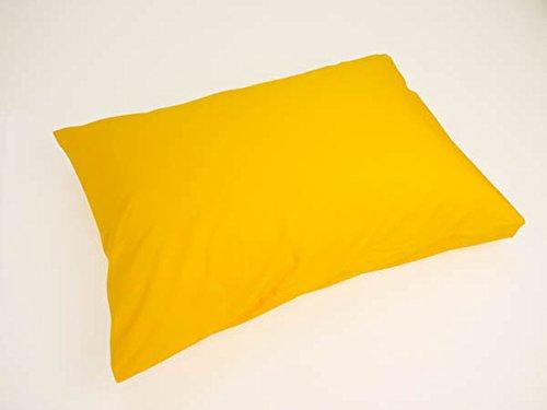 国産 ベビー 枕カバー ピローケース 綿100% 日清紡 カラー49色 (イエロー系 005)