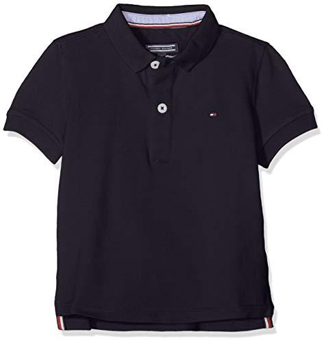Tommy Hilfiger Jungen Boys Tommy Polo S/S Poloshirt, Blau (Sky Captain 420), 164 (Herstellergröße: 14)