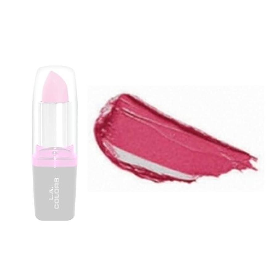 叫び声四分円手当LA Colors Hydrating Lipstick - Pink Suede (並行輸入品)