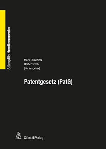 Patentgesetz PatG (Stämpflis Handkommentar, SHK)