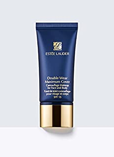 Double Wear Maximum Cover Camouflage Makeup for Face and Body Broad Spectrum SPF 15/1.0 oz. 4w1 Honey Bronze