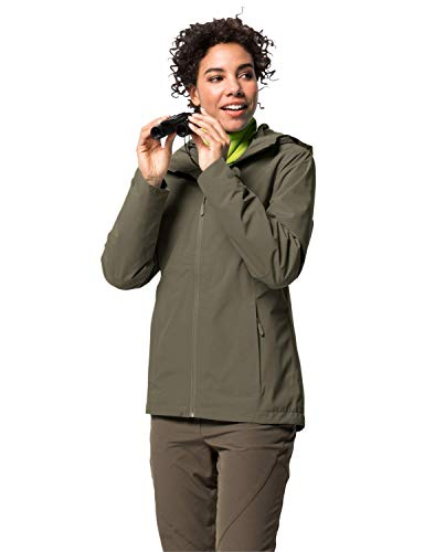 Jack Wolfskin NORRLAND 3IN1 W, Giacca 3 in 1 Donna, Granito, S