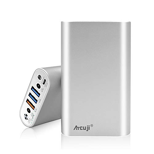 Atcuji 98MP 26800mAh Power Bank 130W Power Delivery for MacBook Pro External Battery MacBook Air Portable Charger Apple iPhone iPad Pro Huawei Samsung Galaxy Google Xiaomi LG and More -(TSA-Approved)