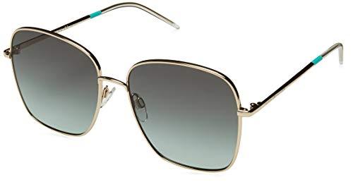 Tommy Hilfiger TH 1648/S Gafas de sol, Multicolor (Goldgreen), 58 para Mujer