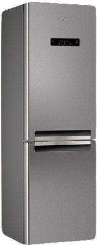 Whirlpool WBV33872 NFC IX Libera installazione 320L A++ Acciaio inossidabile frigorifero con congelatore