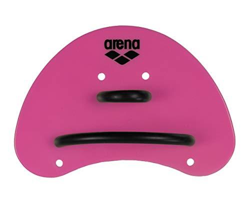 arena Unisex Schwimm Wettkampf Trainingshilfe Finger Paddle Elite für Unterarm-Krafttraining, Pink-Black (95), S