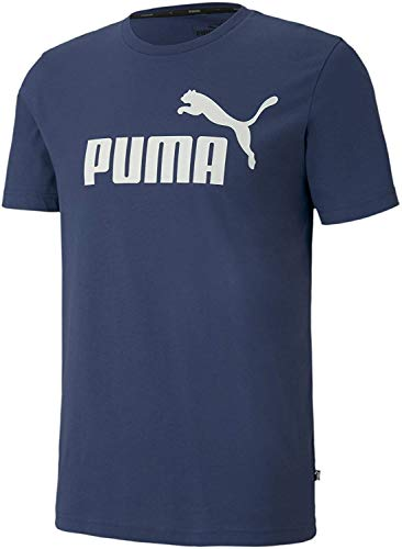 PUMA T-Shirt Essentials pour Homme Dark Denim S