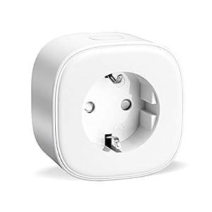 Refoss Enchufe Inteligente 16A 3680W, Compatible con Alexa y Google Assistant, Wi-Fi Smart Plug .con Aplicación de Control Remoto para iOS y Android.