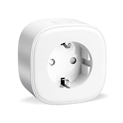 Refoss Enchufe Inteligente 16A 3680W, Compatible con Alexa y Google Assistant, Wi-Fi Smart Plug .con Aplicación de Control Remoto para iOS y Android