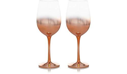 J & Y 7111601310368 Wijnglas, Goud