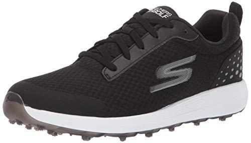 Skechers - Calzado de golf impermeable Torque Twist para hombre, Color Negro/Blanco,...