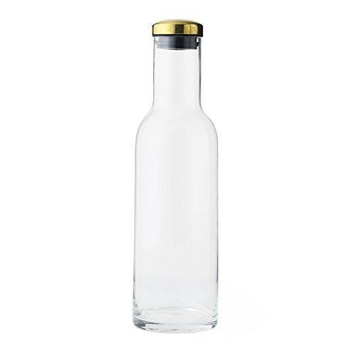 Menu 4680839 Wasser Karaffe, Glas, 1 Liter, transparent