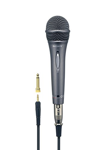 Sony F-V420 Uni-Directional Vocal Microphone with Gold-Plated Mini-Plug