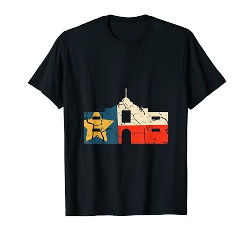Texas Rustic Flag Shirt Houston Alamo San Antonio T-Shirt