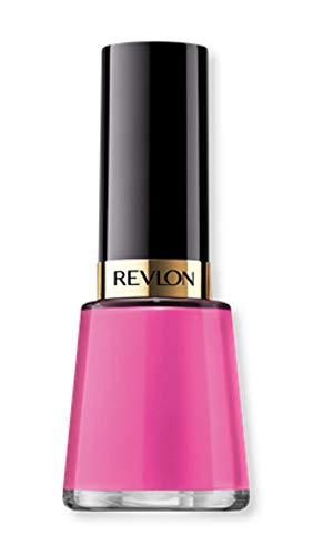 Revlon Nail Enamel, Chip Resistant Nail Polish, Glossy Shine Finish, in Pink, 276 Vivacious, 0.5 oz