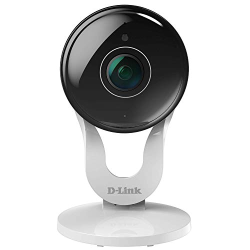 D-Link Security Camera Indoor Outdoor HD Video Dome Surveillance System Motion Detection Sensor (Full HD) (Renewed)