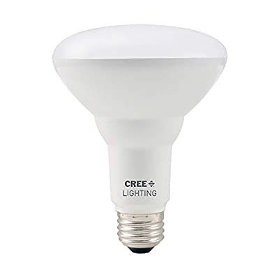 Cree Lighting Basic BR30 65W Equivalent LED Bulb, 650 lumens, Dimmable, Daylight 5000K, 15,000 Hour Rated Life, 80 CRI, Good for Enclosed | 2-Pack, BR30-65W-B2-50K-E26-U2