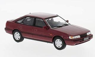 Mazda 626, metallic dunkelrot, 1990, Modellauto, Fertigmodell, WhiteBox 1:43
