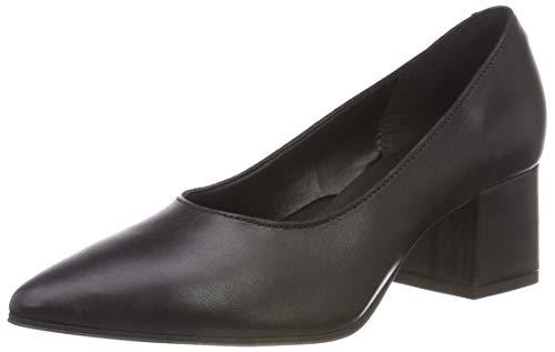Bianco Damen Fashion Pump Pumps, Schwarz (Black 100), 41 EU