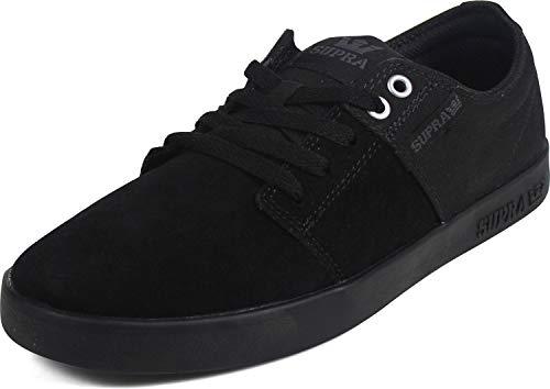 Supra Men's Skateboarding Shoes, Black Black M 8, US 7.5