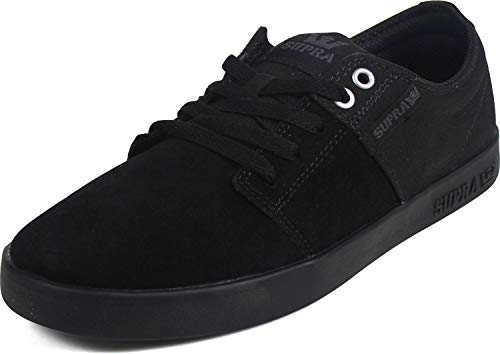 Supra Unisex-Erwachsene Stacks II Sneaker, Schwarz (Black 008), 44 EU